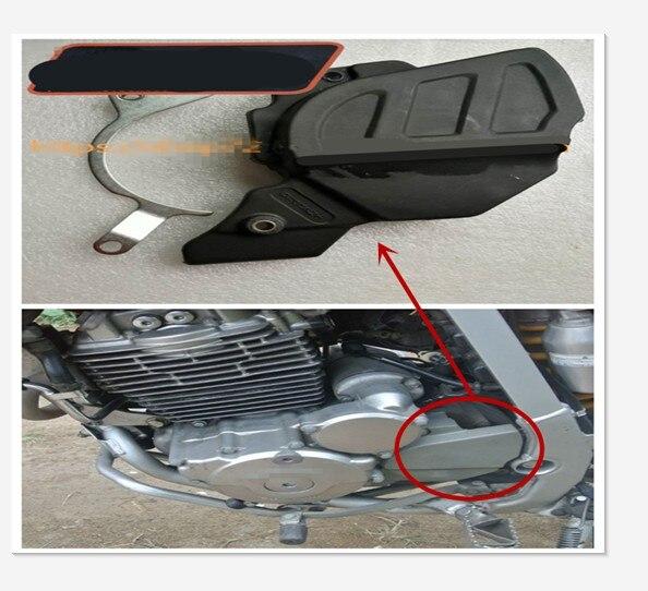Para la parte delantera de la cubierta de protección del piñón de la motocicleta Honda XR250 XR 250 BAJA250 BAJA 250