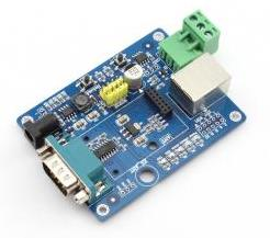 USR-WIFI232-2EV2 test board serial port RS232 to WiFi Ethernet port RJ45 to WIFI