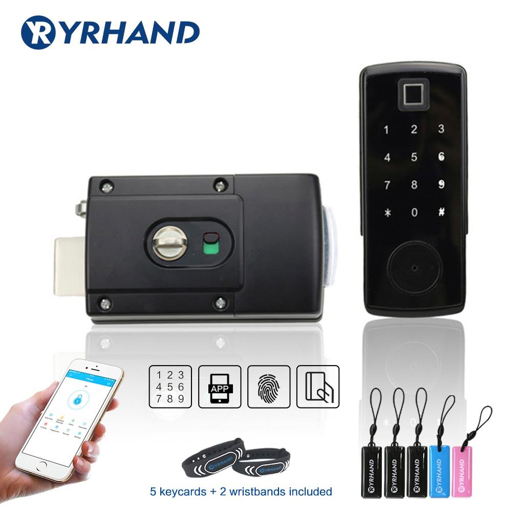 Review TTlock app Electronic Door Lock, Digital Door Lock Smart, Bluetooth APP Keyless Keypad Code Password Door Lock
