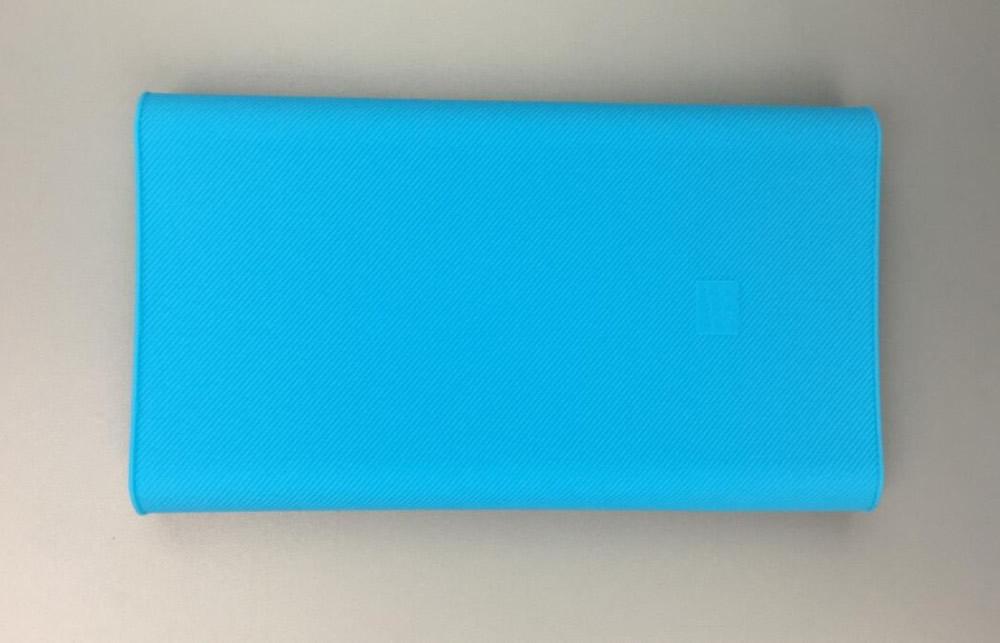 Wysoka jakość xiaomi banku mocy 2 10000 mah case 100% nadające się do mi 2nd generacji mocy banku pokrywa silikonowa case gel rubber case 2