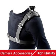 Pour Gopro accessoires réglable universel unique bandoulière poignée support poitrine harnais ceinture voyage pour GoPro Clip