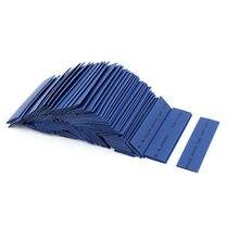 Manchon de film aluminium bleu   120 pièces 14mm Dia 21 tube thermorétractable 90mm