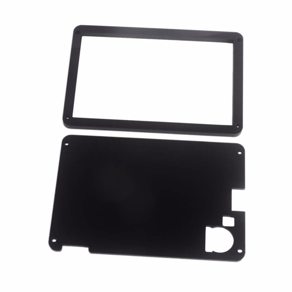 "4.3 inch Acrylic Nextion Case Box Enclosure for Nextion Enhanced 4.3"" HMI Touch Display Screen LCD Module Black FZ1719E-C"