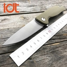 LDT Bear F95 Folding Knife 440 Blade G10 Handle Tactical Camping Hunting Knives Pocket Outdoor Knife Survival Utlity Tools OEM