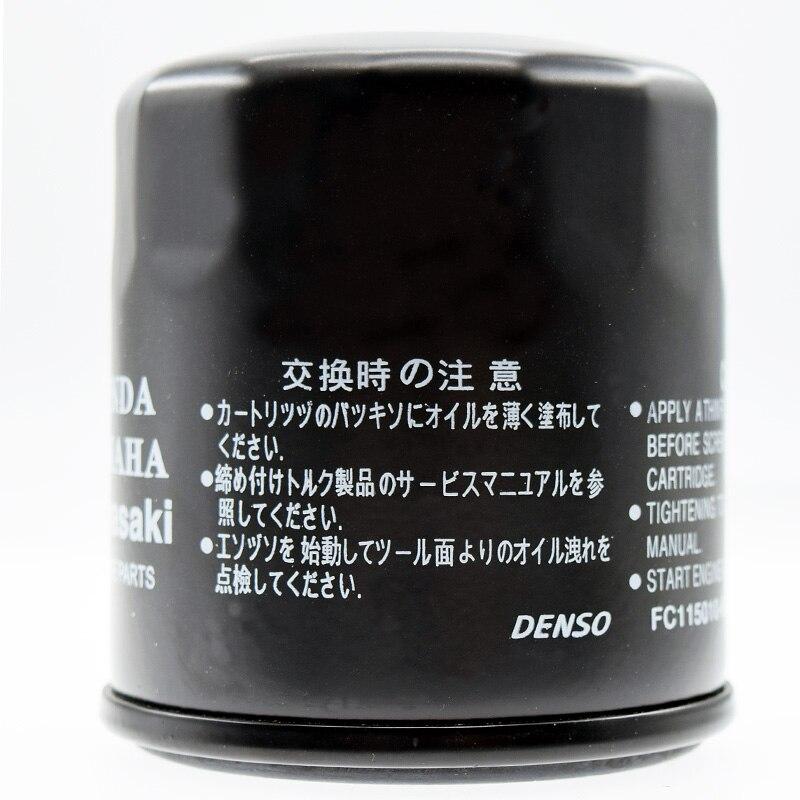 Para Suzuki GSF650 bandido 2005, 2006, 2007, 2008, 2009, 2010, 2011 GSF 650 motocicleta HF138 aceite de rejilla filtro limpiador filtros