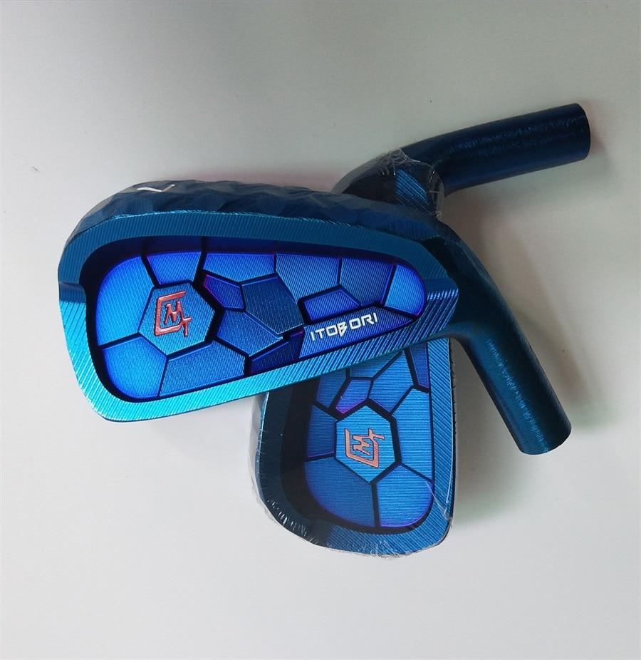 Playwell 2018  Itobori  blue  color  golf iron head  forged   carbon steel  CNC iron  wood  iron