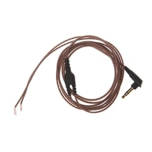 3.5mm OFC Core 3 pôles Jack casque Audio câble bricolage écouteur entretien fil