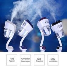 5 V 2.1A double USB chargeur humidificateur dair voiture purificateur dair désodorisant ultrasons atomisation aromathérapie brumisateur