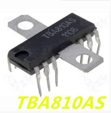 1 unids/lote TBA810AS TBA810S TBA 810AS 810 TBA810 DIP-12-12 en Stock