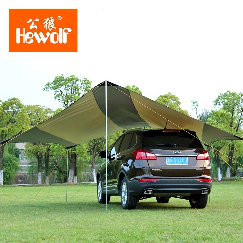 Наружный водонепроницаемый тент навес ультрабольшая теневая Пляжная палатка