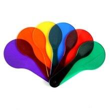 6pcs Sei Colori Compresse di Plastica Per Bambini Imparare Presto I Giocattoli di Colore 6 Pezzi Scuola Materna Sussidi Didattici Montessori