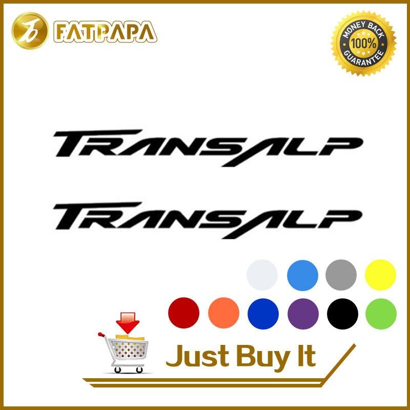 motorcycle bike Fuel tank Wheels Fairing notebook Luggage helmet  MOTO  Sticker decals For HONDA Transalp 600 650 700