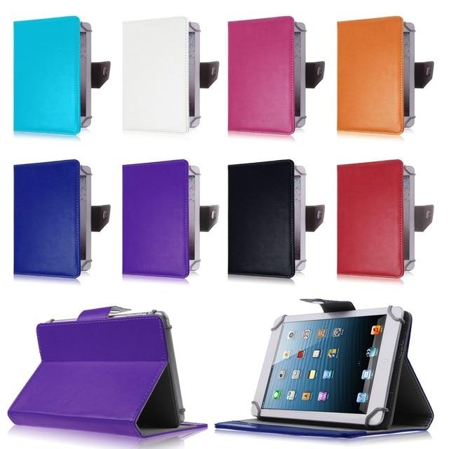 Универсальный 7-дюймовый чехол для планшета Huawei MediaPad 7 Youth 2 S7-721U для ASUS MeMO Pad HD 7 ME173X откидной кожаный чехол с подставкой
