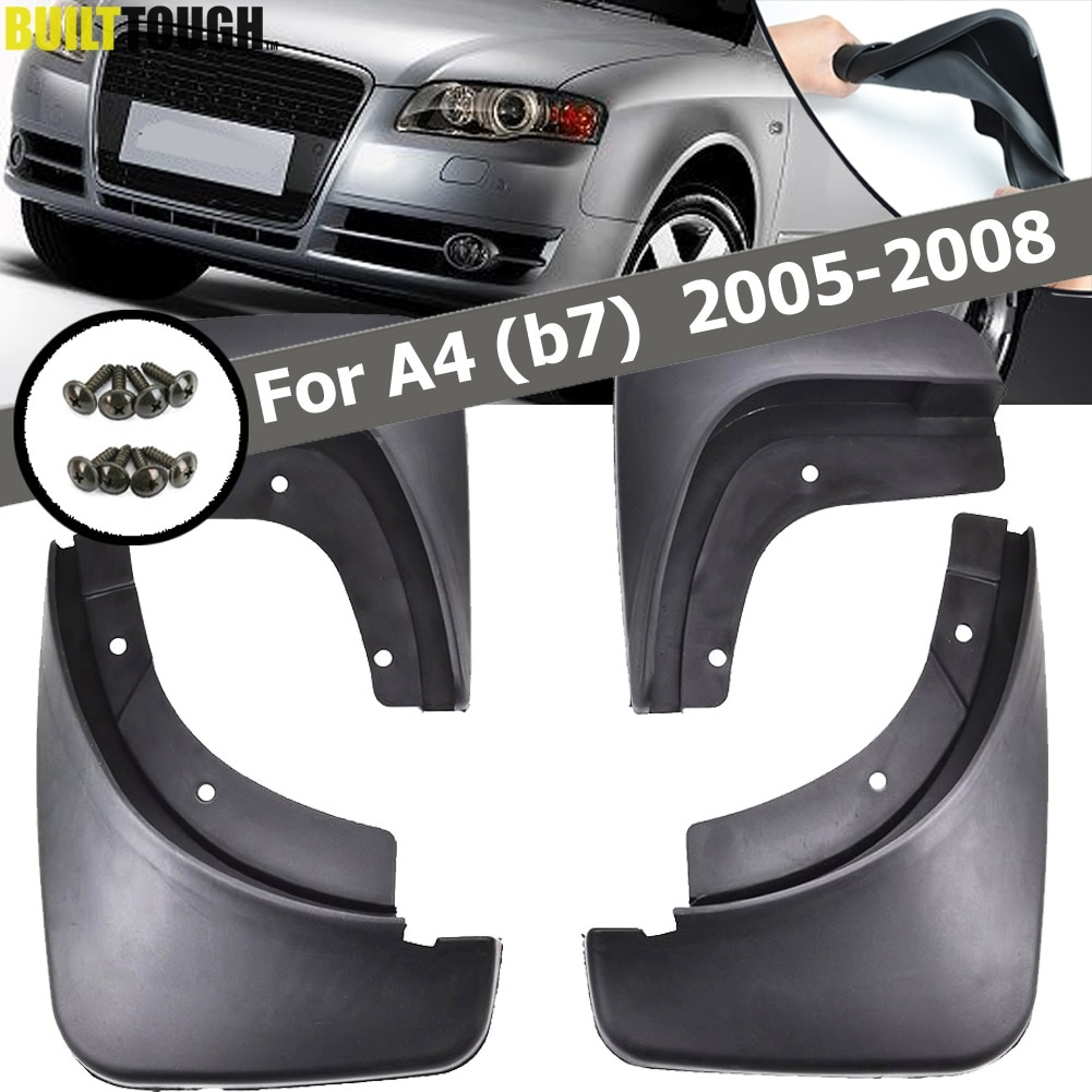 Автомобильные Брызговики для Audi A4 B7 2005 - 2008 Брызговики крыло брызговиков 2006 2007 автомобильные аксессуары