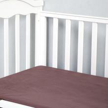 Mikrofiber ipeksi yumuşak beşik levha donanma hipoalerjenik nefes gömme Toddler yatak çarşafları bebek levha için erkek kız