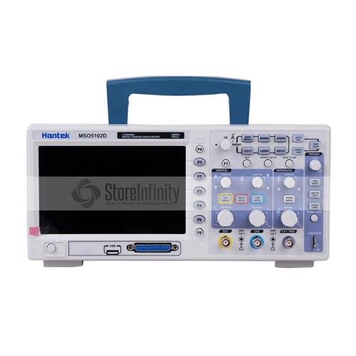 Hantek-Oscilloscope logique MSO5102D, Oscilloscope 100MHz 2 Ch 1gsa/s 16Ch analyseur logique 2 en 1