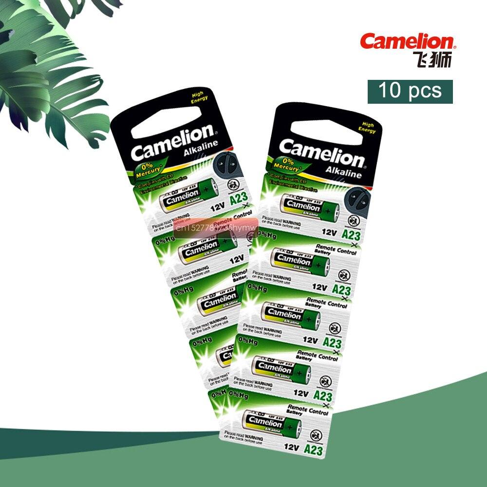 10 piezas nuevo Camelion Batería alcalina 12 V 23A 12 V 27A 23A 12 V 12 V 21/23 A23 E23A MN21 RC control remoto batería RC Par