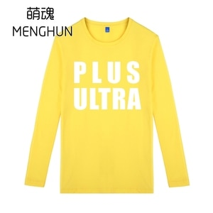 My hero Academia long sleeve t shirts /ALL MIGHT/IZUKU MIDORIA Anime t shirts Plus ultra t shirt ac1197