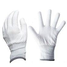 EHDIS gants enveloppés de voiture   Antistatiques, en vinyle, 1 paire, gants de travail, Nylon, Fiber de carbone, outil dinstallation de films autocollants de voiture