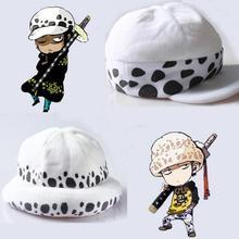"Anime One Piece Trafalgar Law Cosplay Death Hat ""due anni dopo inverno Comic Gift 2 version"