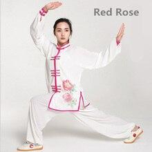 G-LIKE à manches longues arts martiaux costumes 9 types dimpression modèles Tai Chi vêtements pas de rétrécissement étape uniforme 7 tailles