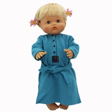 Blue Warm Dress Clothes for American girl  18inch doll clothes for children best gift