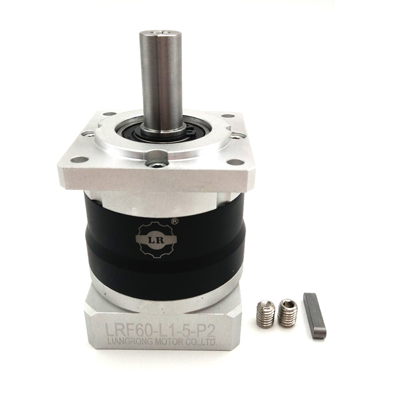 Alta Precisión de entrada máxima 8000rmp salida Torque 51 NEMA 24 engranaje planetario reductor relación 51 para 60mm Servo Motor LRF60-5 nuevo