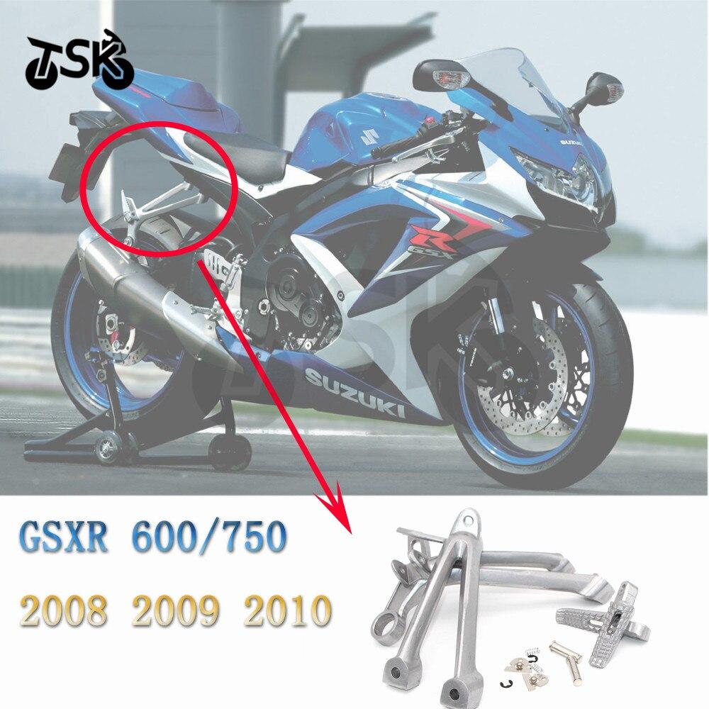 مسند قدم للراكب الخلفي لسيارات Suzuki GSX R 600 750 GSXR-600/750 2008 2009 2010