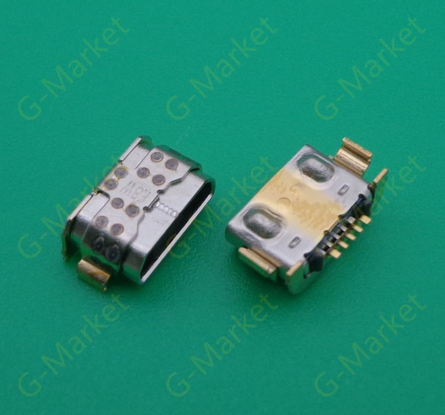 200 teile/los Lade Port-anschluss Für LG K9 X210 LM-X210EM LMX210EM Micro USB Stecker Jack Micro USB Buchse Ladegerät