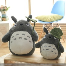 Soft Totoro Cat Plush Toys For Children Girls Plush Stuffed Animals Anime Totoro Dolls Children Gift Soft Pillow Cushion Decor