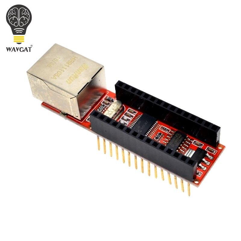 1 шт. ENC28J60 Ethernet щит V1.0 для arduino совмести�
