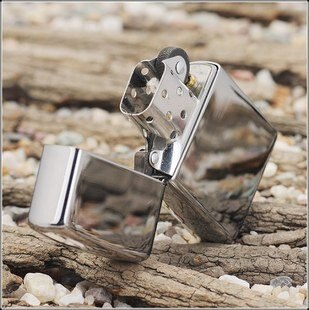 Free shipping 1pcs/lot Oil Lighters briquet refillable Mirror Surface design Kerosene Lighters Cigarette Lighter Best Gift
