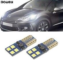 BOAOSI-phares de stationnement Sidelight   2x T10 W5W, 3030SMD, pour Citroen C4 C5 C3 Grand Picasso Berlingo Xsara Saxo C1 ds3