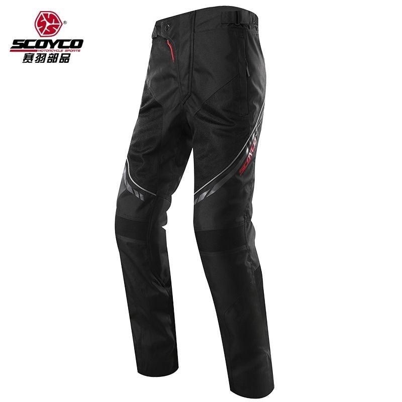 Pantalones de moto Scoyco P027 para hombre, deportivos, extraíbles, interiores, cálidos, de invierno, de turismo, para motocicleta