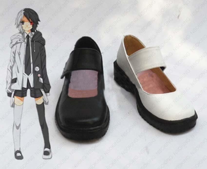 Savanronpa-أحذية تنكرية ذات كعب عالٍ ، أحذية أنيمي Happy Havoc monokuma ، مصنوعة حسب المقاس