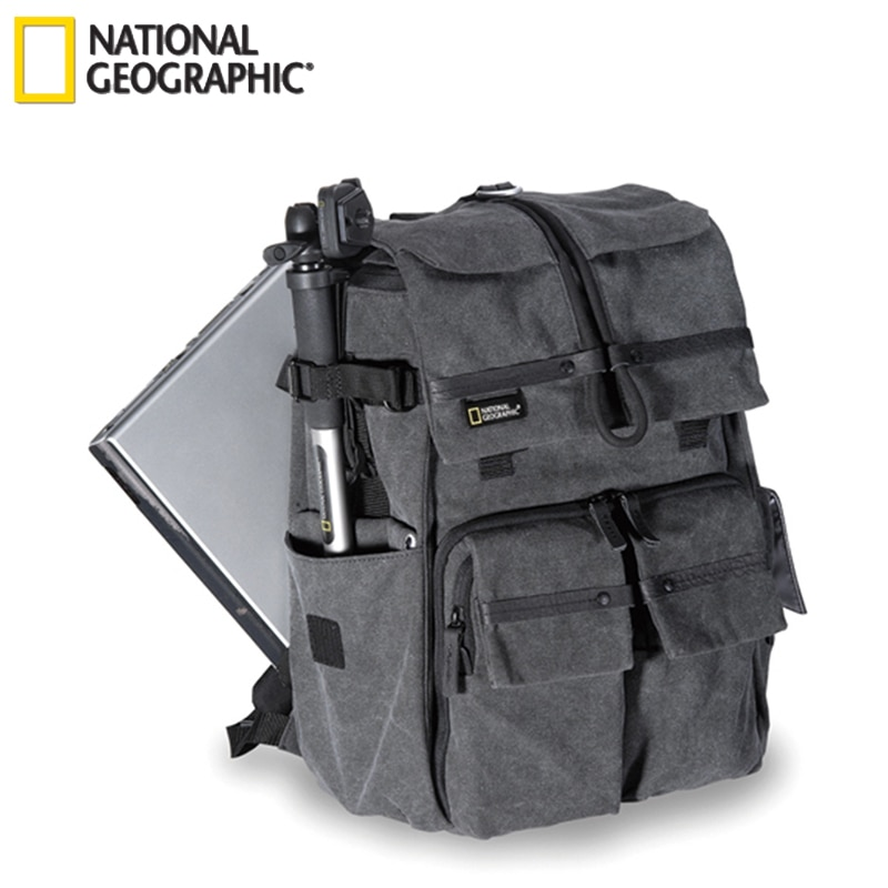 Новинка, Оригинальный чехол для камеры National Geographic NG W5070, сумка на плечо, рюкзак, рюкзак, можно положить 15,6