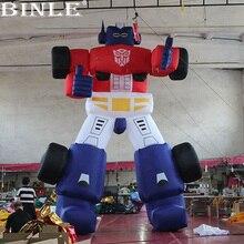Robot gonflable géant drôle   Personnages de dessin animé géant pour la promotion, fabricant chinois