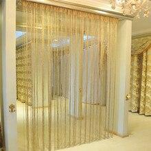 Cortinas de cuerda, red para patio, Franja para puerta, mosquitera, divisor de ventanas, corte a tamaño, cortinas para sala de estar