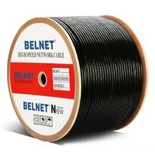 1000ft 305m extérieur étanche UTP CAT6 câble HDPE OFC fil boîte arbre RJ45 réseau paire torsadée pour lingénierie Gigabit Ethernet