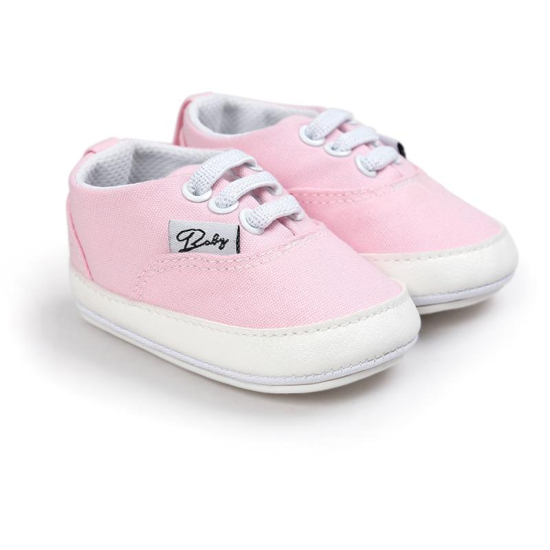 Wiosna Jesień Dziecko Noworodka Dziewczynka Chłopiec Miękkie Podeszwy antypoślizgowe Maluch Prewalker Niemowląt Sneaker Buty Na Co Dzień 32