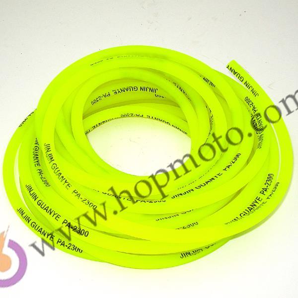 10M amarillo verde rojo manguera de combustible/manguera de aceite/tubos de combustible para Piezas de motocicleta/piezas de pit bike/ATV/monkey bike/motocicleta/scooter