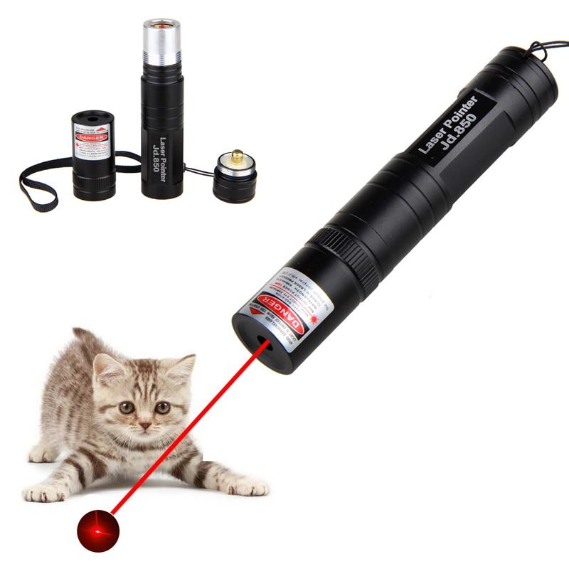 Indicador potente láser rojo lápiz láser de alta potencia láser Luz 532nm 5mW de encendido fósforo Visible haz presentador láser remoto