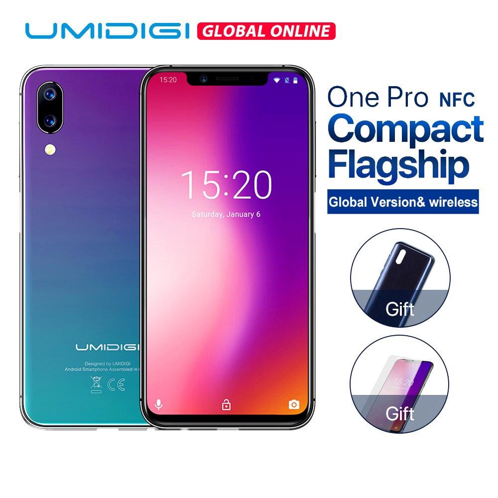 "UMIDIGI un Pro versión Global 5,9 ""12MP + 5MP Dual 4G teléfono móvil de carga inalámbrico 4GB 64GB P23 Octa Core smartphone con NFC divertido"