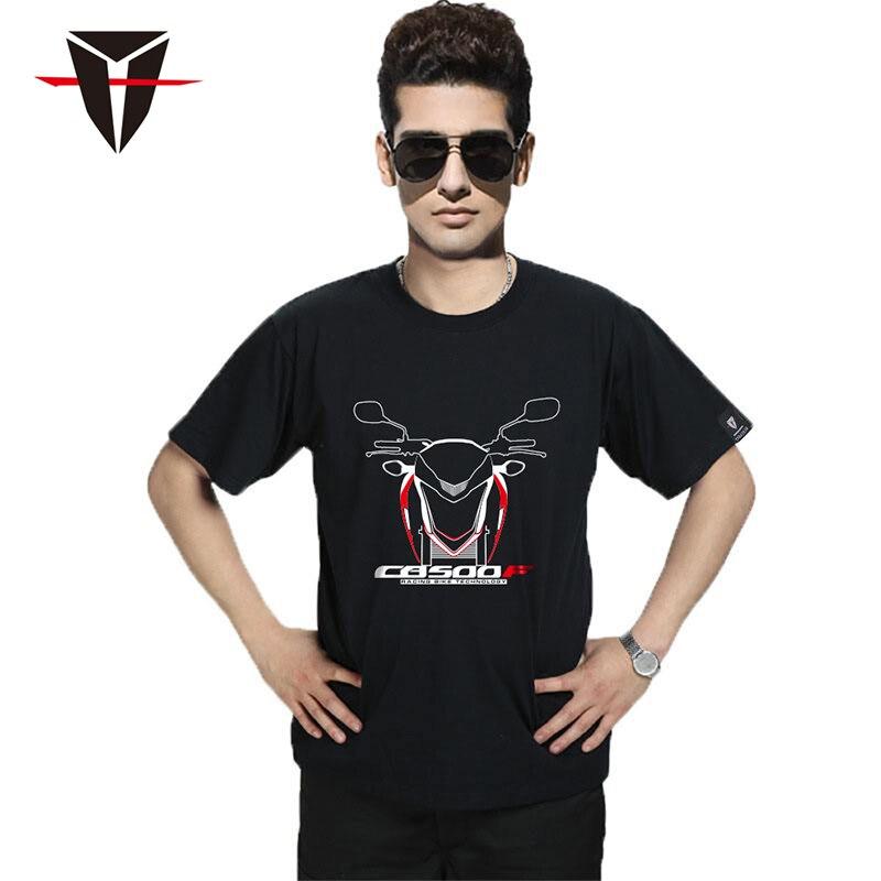 Camiseta de hombre KODASKIN para Honda CB500F DreamWing 100% Camiseta de algodón