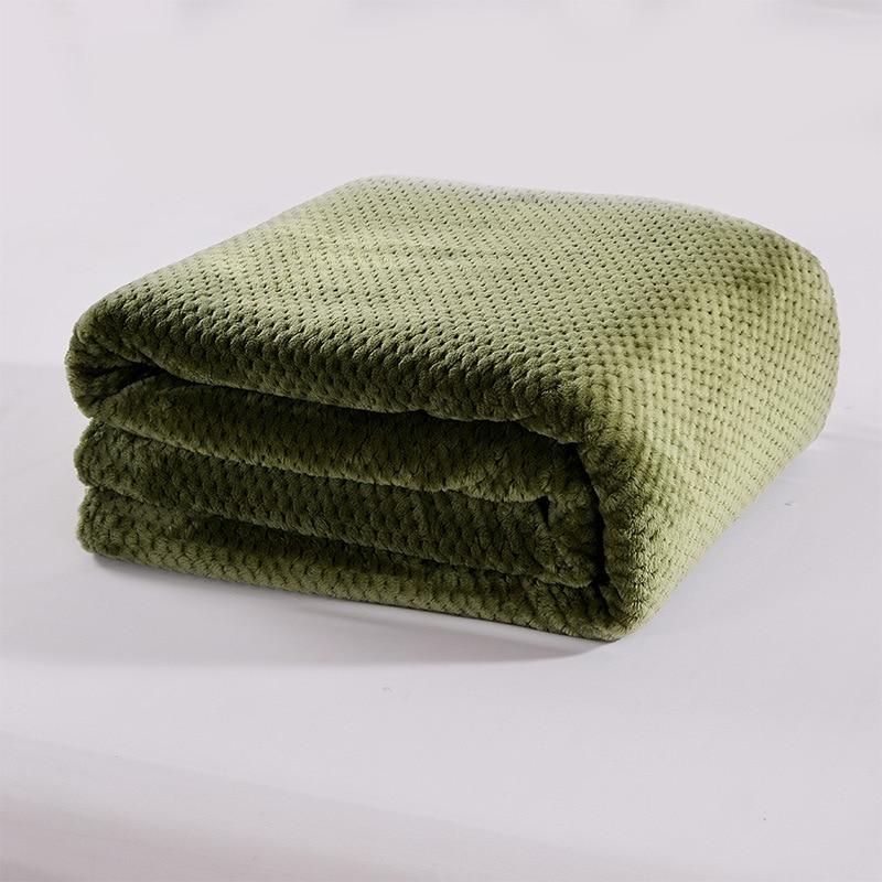 Envío Directo sofá/aire/ropa de cama Mantas suaves cubrecama portátil coche manta para aire acondicionado