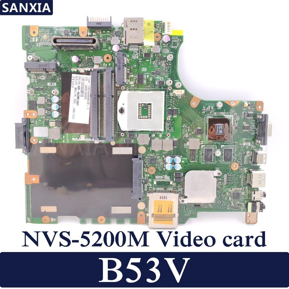 KEFU B53V computadora portátil placa base para ASUS B53V B53AV B53A B53J...