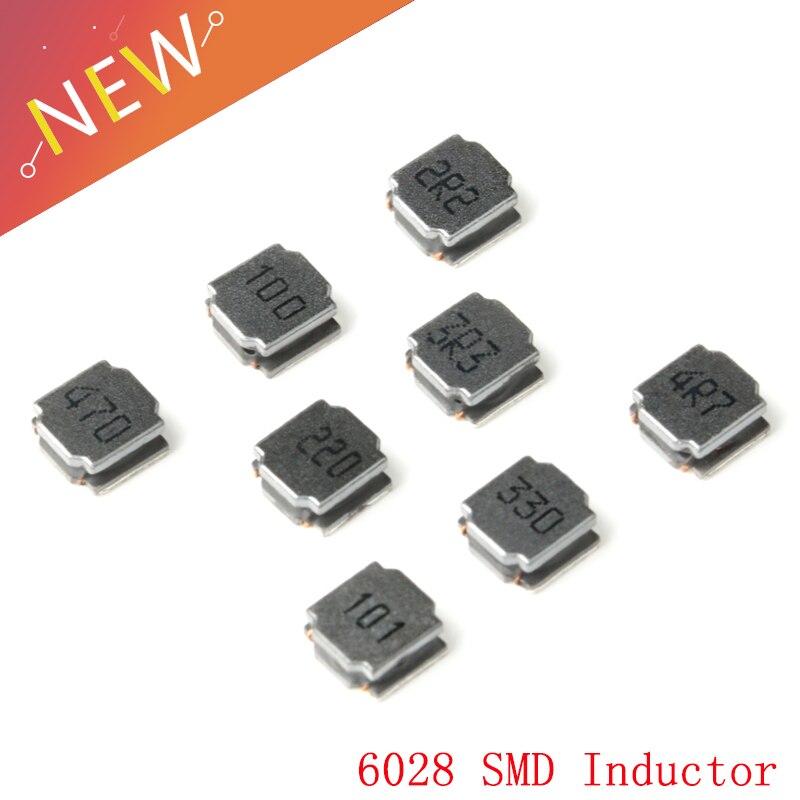 Inductor de potencia Original de 25 uds SWPA6028S 6028 2.2uH-100uH SMD Chip inductancia de bobinado de alta calidad