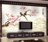 wellyu custom photo wallpaper 3d photo murals magnolia flower color sculpture living room tv wallpaper design papel de parede