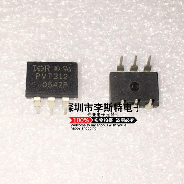 Enviar livre 10 piezas PVT312 PVT312PBF DIP-6 Novo de venda quente lentes circuitos integrados electrnicos