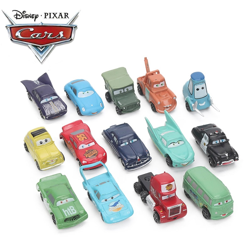 2-7 cm 14 teile/los Disney Pixar Autos 3 Spielzeug Mini Blitz McQueen Mater Jackson Storm PVC Action Figure auto Modell Spielzeug für Jungen